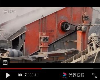 YA圆振动筛采石场使用现场视频